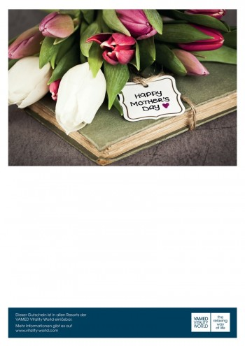 print@home-Gutschein Happy Mother's Day