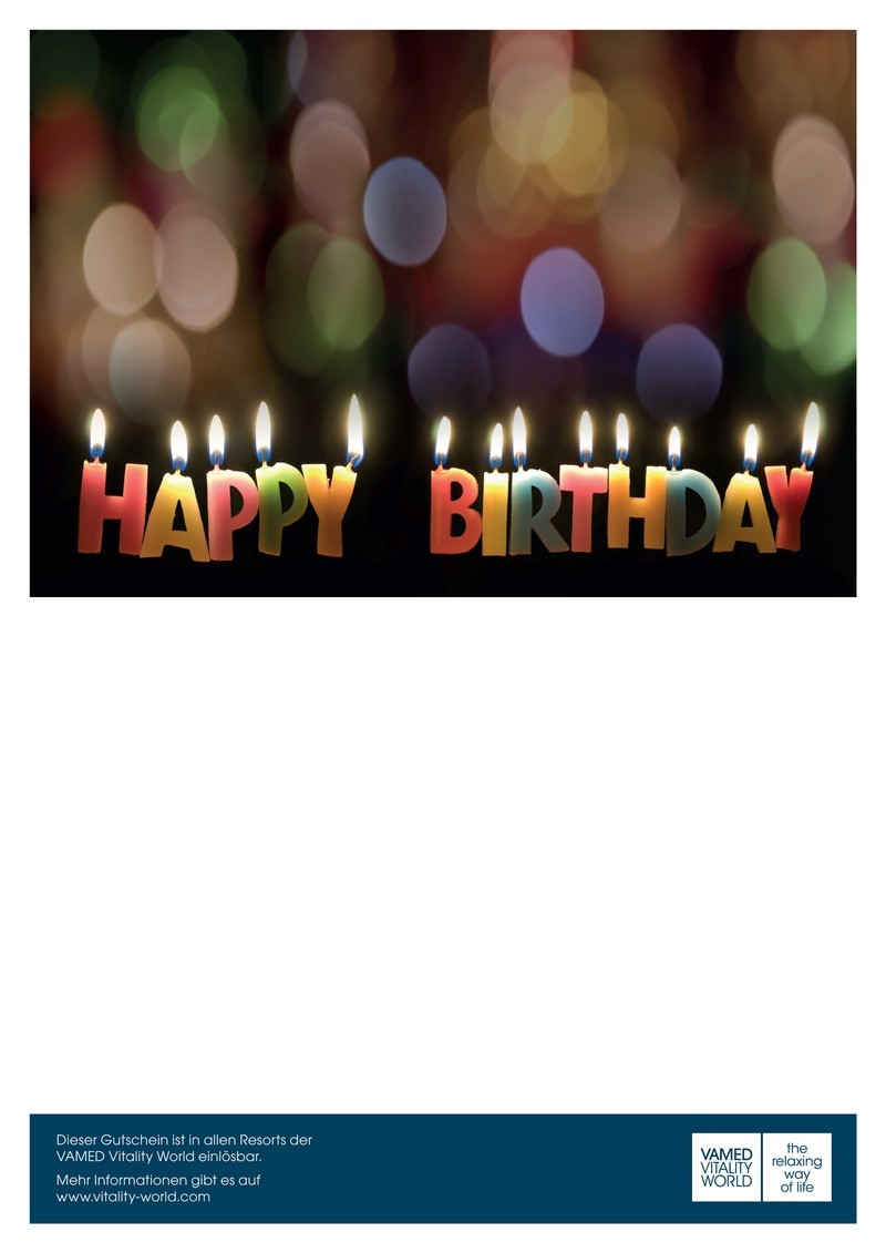 print@home voucher Happy Birthday