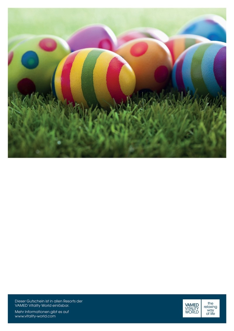 print@home voucher Easter eggs on grass