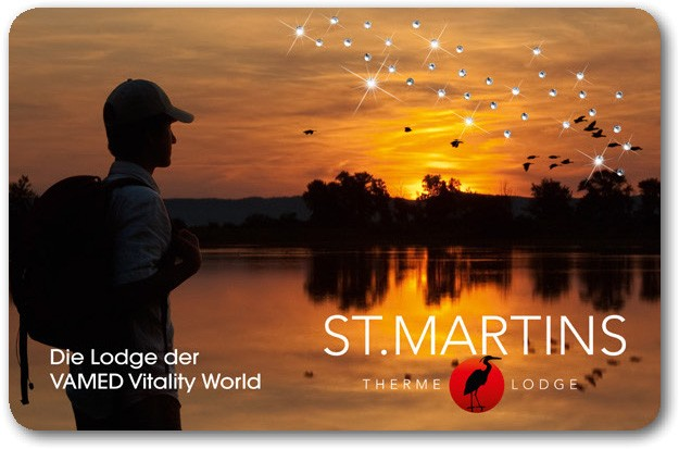 "Premium-gift card ""St. Martins Therme & Lodge"""