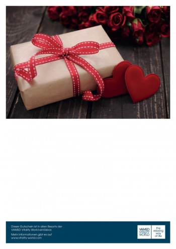print@home voucher Parcel with red bow