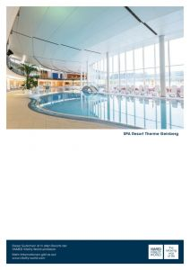 Gutscheinmotiv: Spa Resort Therme Geinberg